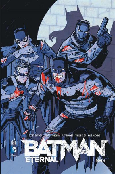 Couverture Batman Eternal tome 4
