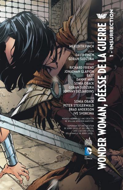 Page 3 Wonder Woman, déesse de la guerre tome 1