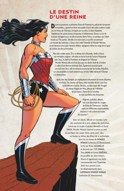 Page 4 Wonder Woman, déesse de la guerre tome 1
