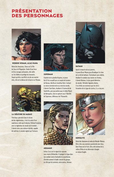 Page 5 Wonder Woman, déesse de la guerre tome 1