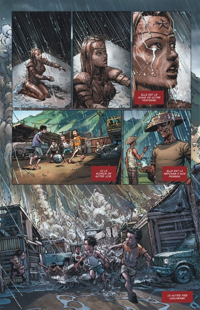 Page 8 Wonder Woman, déesse de la guerre tome 1