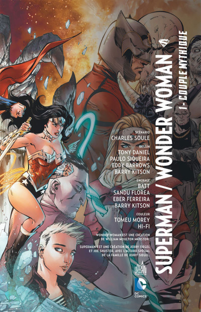 Page 3 Superman & Wonder Woman tome 1