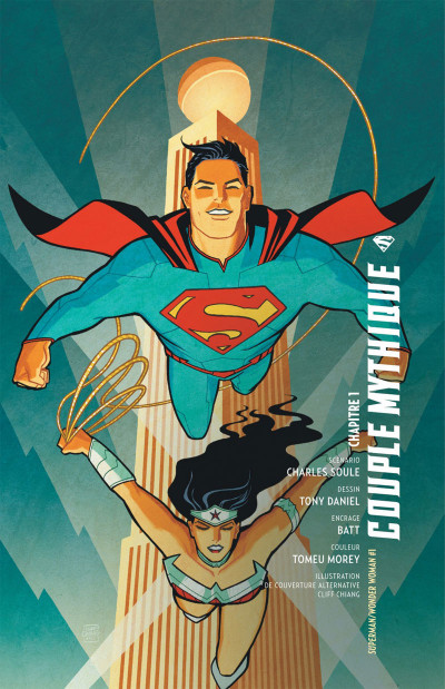 Page 6 Superman & Wonder Woman tome 1
