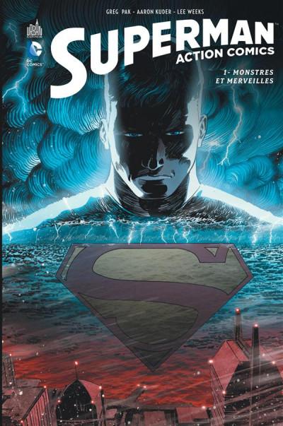 Couverture Superman action comics tome 1