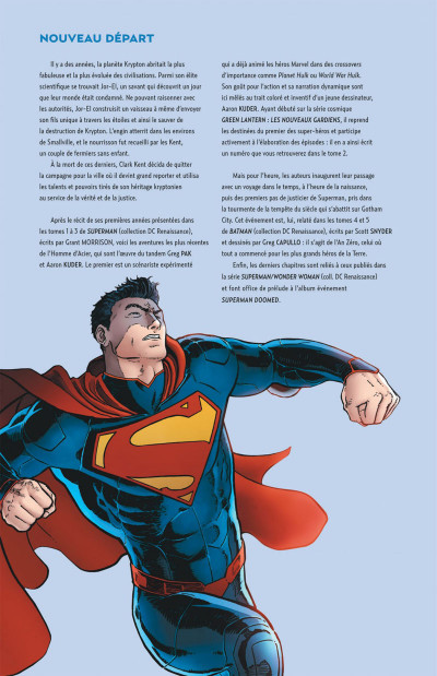 Page 4 Superman action comics tome 1