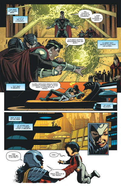 Page 7 Superman action comics tome 1