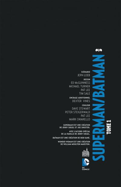 Page 3 Superman Batman tome 1