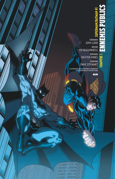 Page 6 Superman Batman tome 1