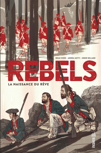 Couverture Rebels