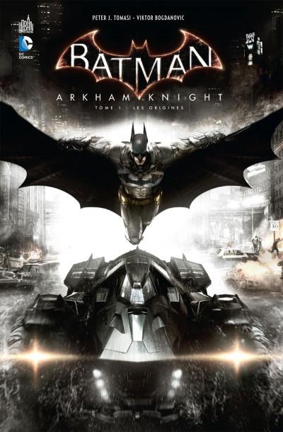 Couverture Batman Arkham Knight tome 1 + Skin Batman exclusif