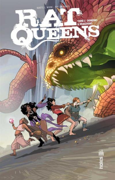 Couverture Rat queens tome 1