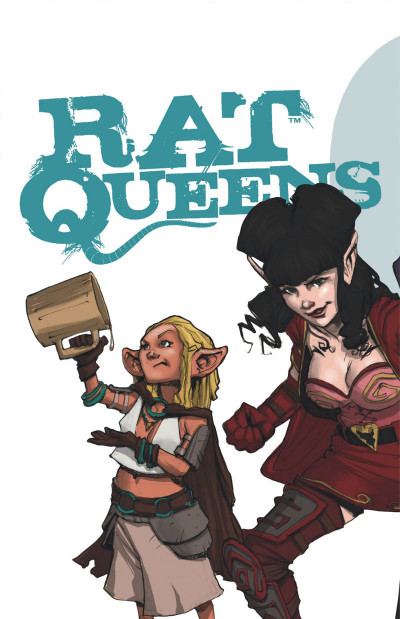 Page 2 Rat queens tome 1