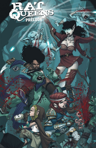 Page 4 Rat queens tome 1