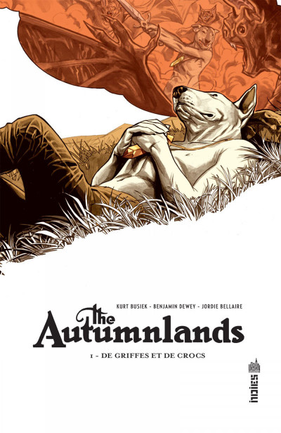 Couverture The autumnlands tome 1