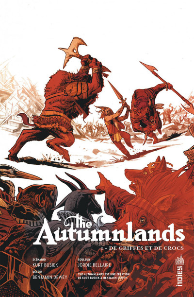 Page 3 The autumnlands tome 1
