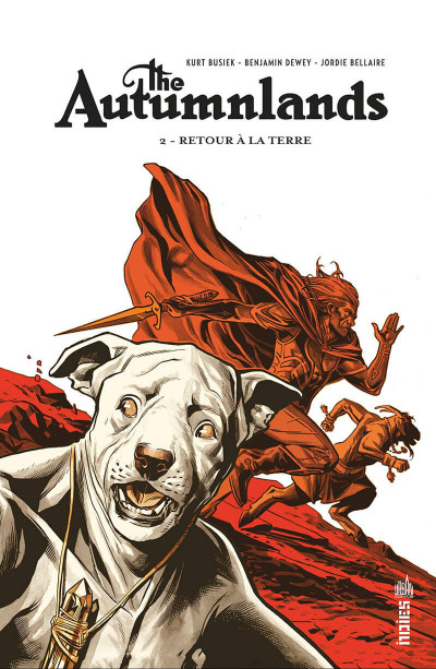 Couverture The autumnlands tome 2