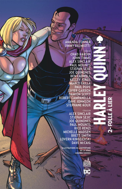 Page 3 Harley Quinn tome 2