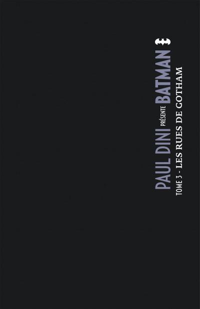 Page 1 Paul Dini présente Batman tome 3
