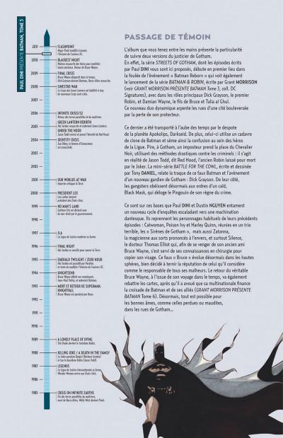 Page 4 Paul Dini présente Batman tome 3