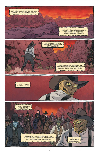 Page 7 The sixth gun tome 6