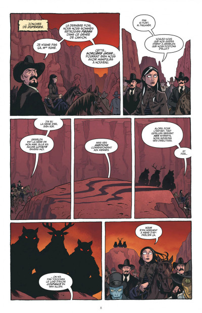 Page 8 The sixth gun tome 6