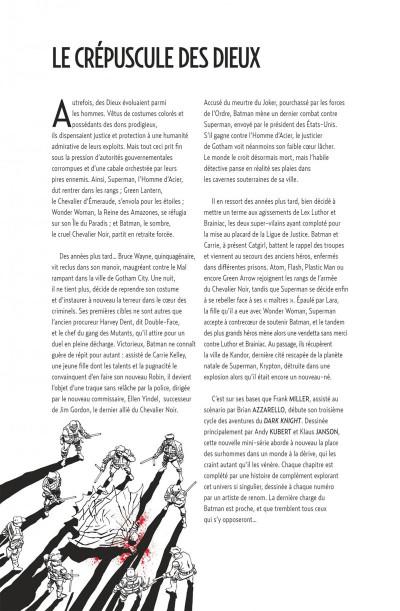Page 4 Batman dark knight III tome 1