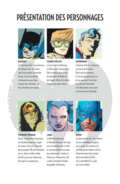 Page 5 Batman dark knight III tome 1