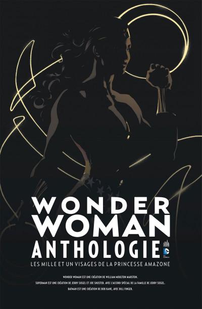 Page 1 Wonder Woman anthologie