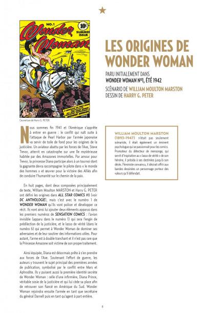 Page 8 Wonder Woman anthologie