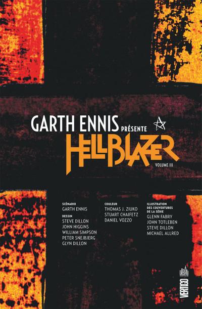 Page 3 Garth Ennis présente Hellblazer tome 3