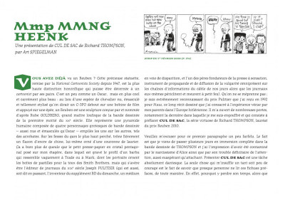 Page 4 Cul de sac tome 1