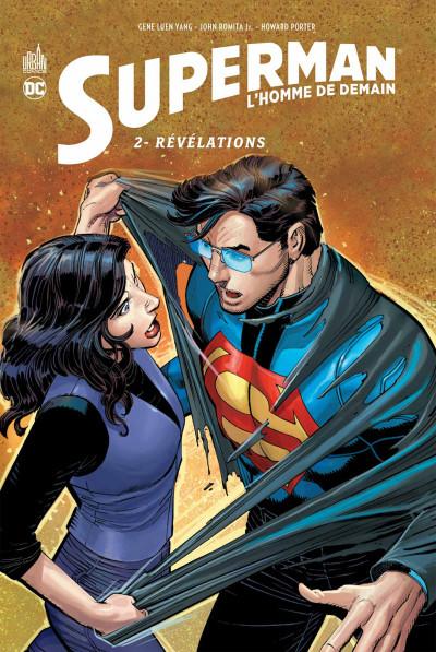 Couverture Superman l'homme de demain tome 2