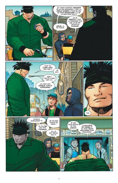 Page 8 Superman l'homme de demain tome 2