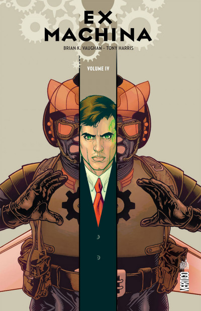 Couverture Ex machina tome 4