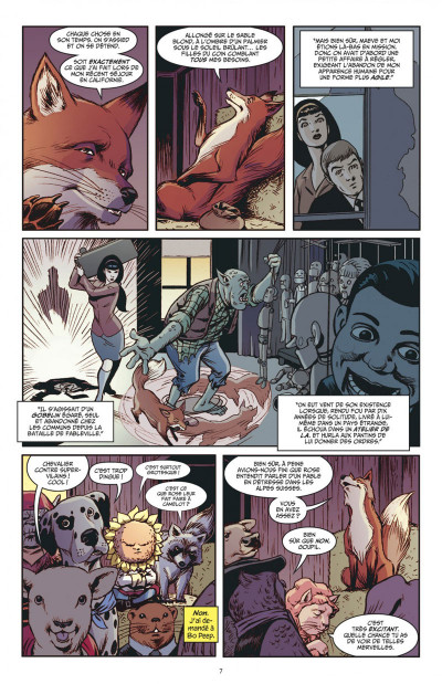 Page 7 Fairest tome 5