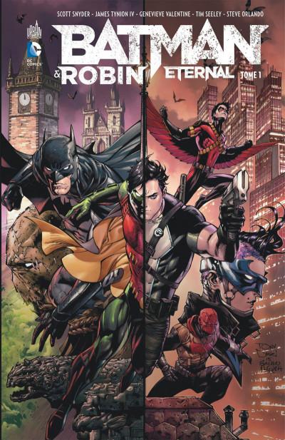 Couverture Batman et Robin eternal tome 1