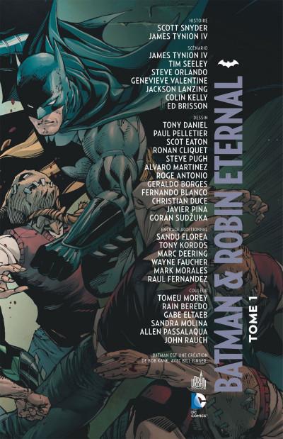 Page 3 Batman et Robin eternal tome 1