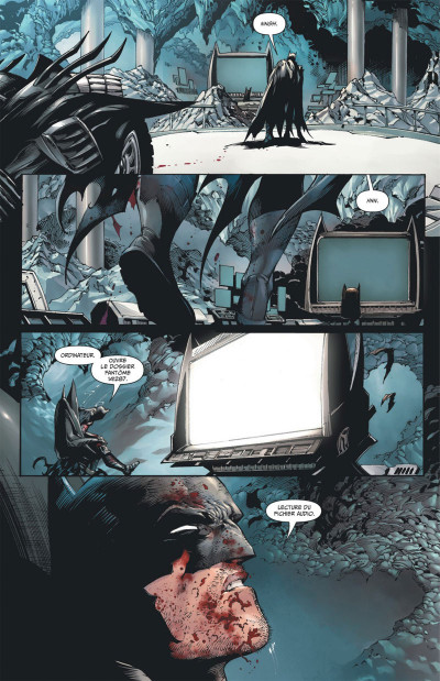 Page 8 Batman et Robin eternal tome 1