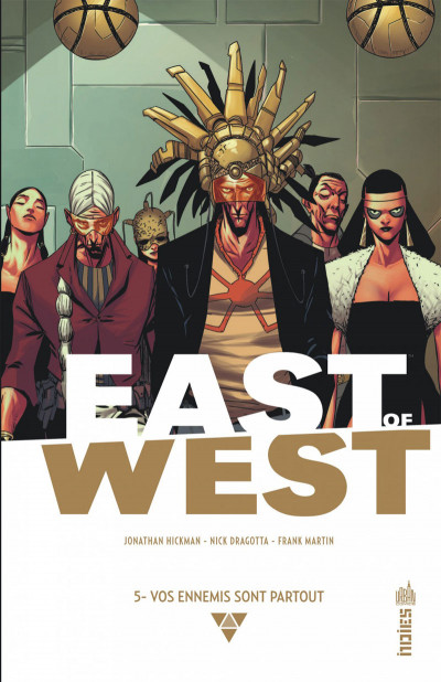 Couverture East of west tome 5