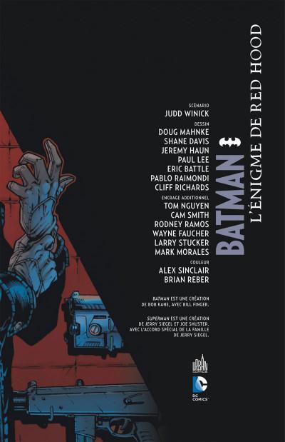 Page 3 Batman - L'énigme de Red Hood