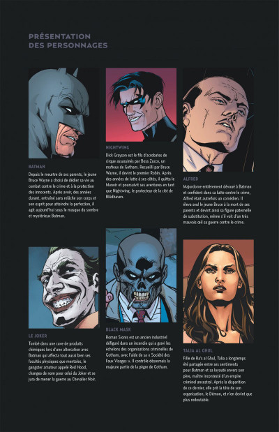 Page 5 Batman - L'énigme de Red Hood