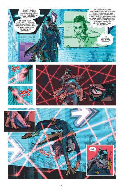 Page 8 Batgirl tome 2