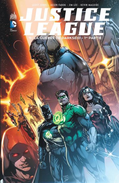 Couverture Justice league tome 9
