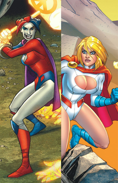 Page 4 Harley Quinn & Power Girl