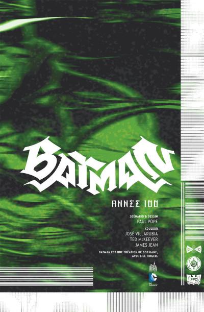 Page 3 Batman année 100