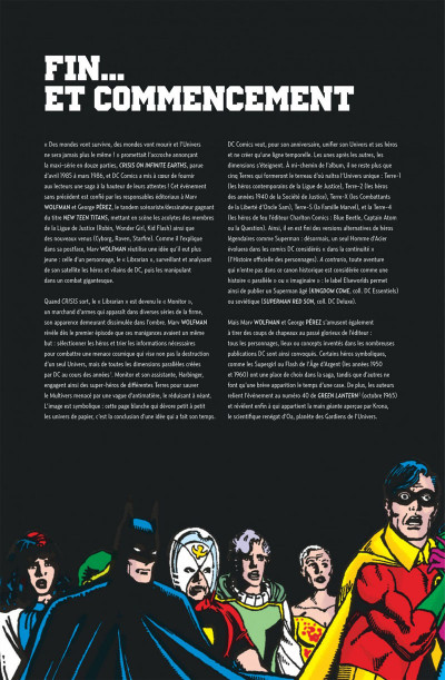 Page 4 Crisis on infinite earths