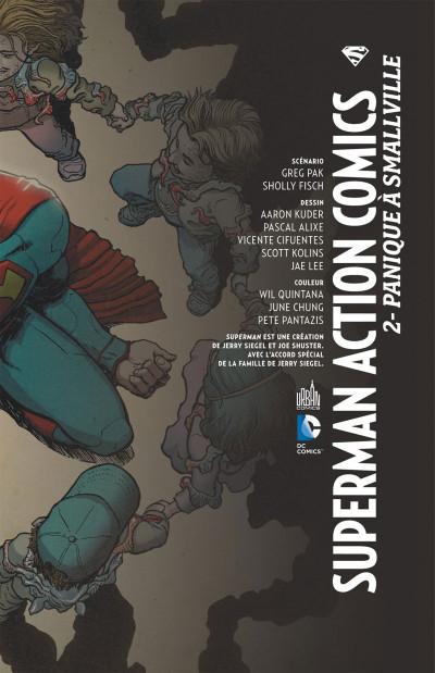 Page 3 Superman action comics tome 2