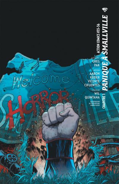 Page 6 Superman action comics tome 2