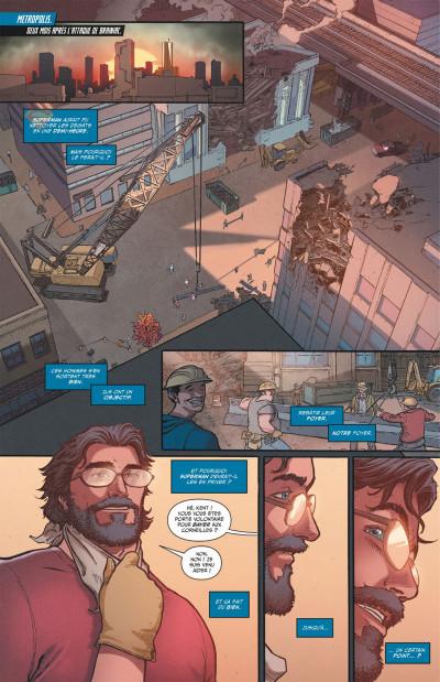 Page 7 Superman action comics tome 2