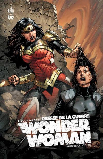 Couverture Wonder Woman, déesse de la guerre tome 2